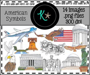 American Symbols Clip Art