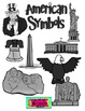 American Symbols Clip Art for Personal or Commercial Use