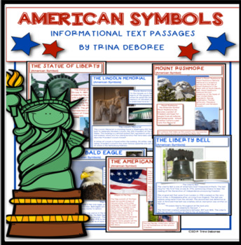 American Symbols Close Reads for Second and Third Grade