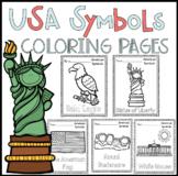 American Symbols Coloring