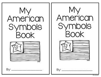 American Symbols Cut & Paste Student Book