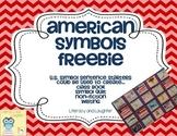 American Symbols FREEBIE  U.S. Symbol Quilt or Class Book