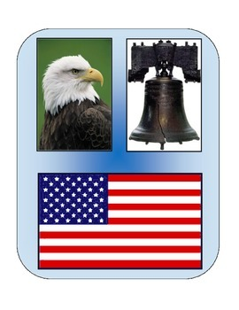 American Symbols: File Folder Activity