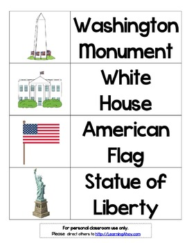 American Symbols Flashcards