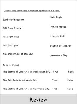 American Symbols Flipbook