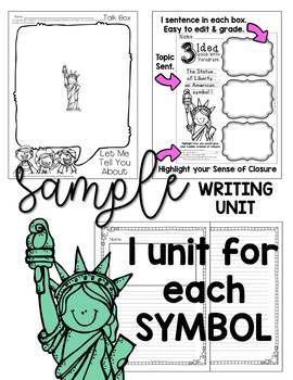 American Symbols- Informational Reading and More to Support the Common Core