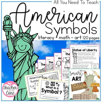 Social studies history teaching resources lesson plans american symbols bundle informational reading art and so much more fandeluxe Gallery