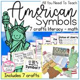 American Symbols {BUNDLE} Informational Reading, Art, and