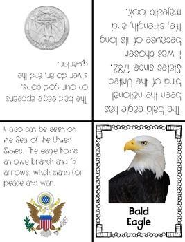 American Symbols Foldable Books