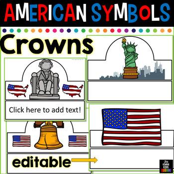 American Symbols Hats (Editable)