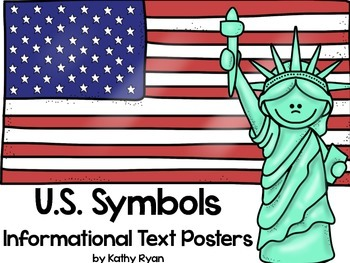 American Symbols Informational Text Posters and Coloring Book