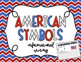 American Symbols Informational Writing for Kindergarten