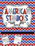 American Symbols Informational Writing for Kindergarten Banners