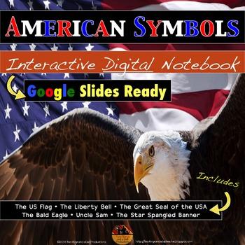 American SYMBOLS Interactive Digital Notebook for Google Drive
