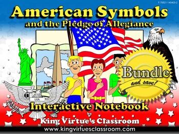 American Symbols: Interactive Notebook BUNDLE