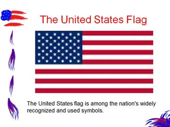 American Symbols, Landmarks, & Documents Powerpoint FREE