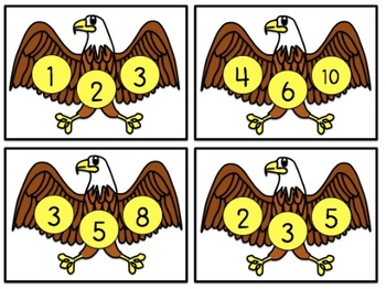 American Symbols Math Centers