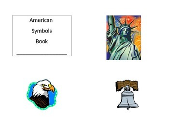 Print and Fold American Symbols Mini Book