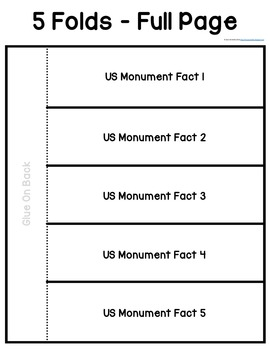 American Symbols & Monuments {A Research and Write Unit}