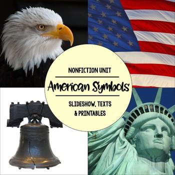 American Symbols Nonfiction Close Reading and Visual Vocab
