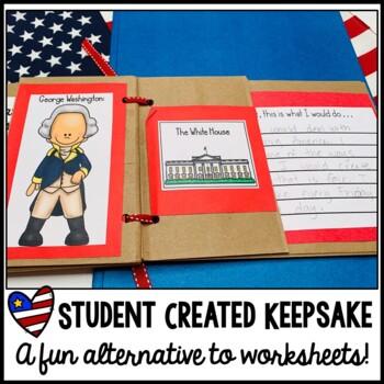 American Symbols Paper Bag Scrapbook