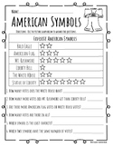 American Symbols Pictograph