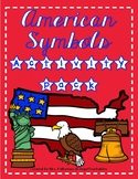 American Symbols Posters, Reading Passages, and Activities