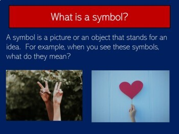 American Symbols First Grade    US Symbols Kindergarten