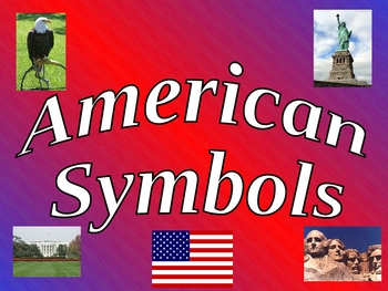 American Symbols PowerPoint for Kindergarten- Veterans' Day