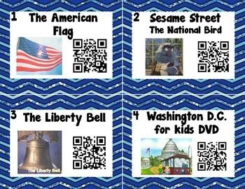 American Symbols/President's Day QR Codes