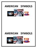 American Symbols Printable Book