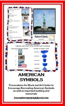 American Symbols: Provocations for Blocks with Lit and Math Extensions