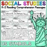 American Symbols Reading Comprehension Passages K-2