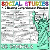 American Symbols Reading Comprehension Passages (K-2) Dist