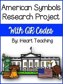 American Symbols Research Project with QR Codes
