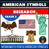 American Symbols Research Second Grade