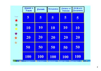 American Symbols Review Game