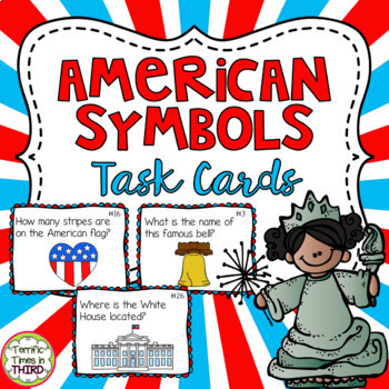 American Symbols Scoot Review Game