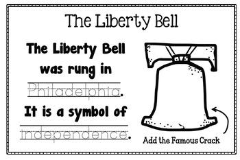 American Symbols Scrapbook Printable