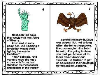 American Symbols- Common Core Close Reading Narrative and Informative Text  Unit