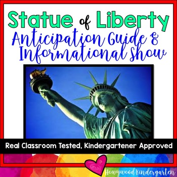 American Symbols! Statue of Liberty Anticipation Guide & A