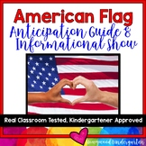 American Symbols : American Flag Anticipation Guide & AWESOME Show!!
