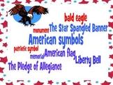 American Symbols Study Guide and Quiz- Third Grade Social Studies