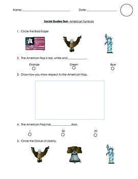 American Symbols Test