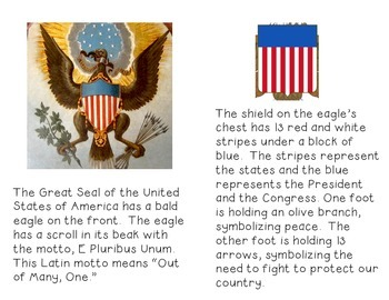 American Symbols-The Great Seal-Non-Fiction Reader and Craftivity
