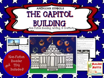 American Symbols-The Capitol Building-Non-Fiction Reader a