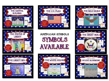 American Symbols-Mount Rushmore-Non-Fiction Reader and Craftivity