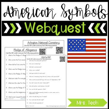 American Symbols Webquest