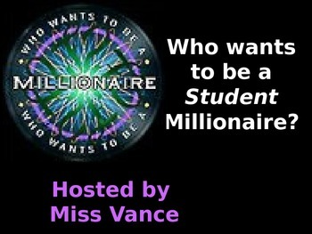 American Symbols Who Wants to be a Millionaire?