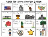 American Symbols Word List - Writing Center